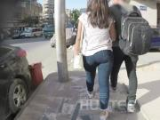 Egyptian teen candid hot ass