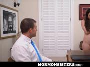 Mormon Teen Sister Casey Calvert Has Sex With Brother Steele