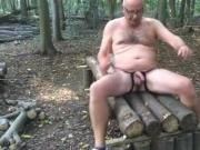 Daddy in the forest cum