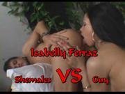 Shemale VS Guy Isabelly Ferraz