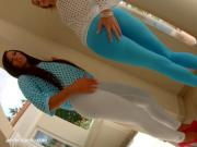 Maria Fiori and Karina Grand threesome anal scene by Ass