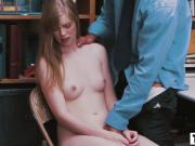 Sweet teen Dolly Leigh gets the theft punishment
