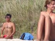 Nude Beach - Hot Redhead Teen