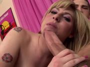 WANKZ- Jackie Avalon Gets Creampied