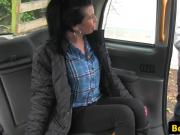 Taxi amateur ass fucked after rimming cabbie