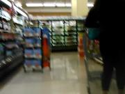 College bbw chick shopping for booze