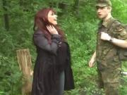 Young Soldier Boy Seduced By Shameless Busty BBW MILF