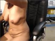 Indian Cougar On Cam Masturbating On Chair Part-3