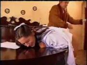 Vintage bdsm spanking the maid KOLI