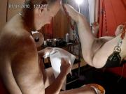 Real cheating wife rough sex