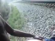 FUCKING BY TRAIN TRACKS
