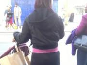Candid Pawg Milf - Big Round Booty In Leggins