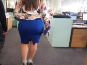 Tight Skirt - Office Ass