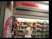 Thick blonde upskirt Store