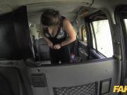 Fake Taxi Euro girl fucked with rock hard cock before facial