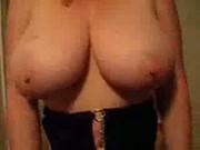 Lateshay 36G big natural tits and pick