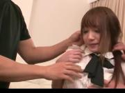 HD Harsh Pleasures for Ayaka Fujikita in Nasty Threesome.wmv