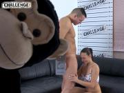 Melonechallenge - Big strong guy just lick pussy to Mea