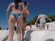 tourist Russian tight asses in bikinis candid-2