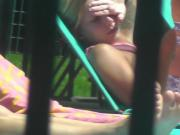 Public ejaculation watching college bikini teases 2 of 4