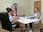 Spex casting agent sucks clients hard cock