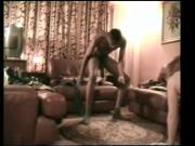 French cuckold films his young wife Victoria with black men