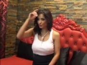 Sexy Milf Strips & Rubs Clit