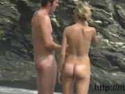 Some fun video we took in a nudist beach hidden cam