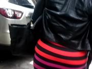 Mix Color Dress Bbw Big Booty