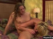 HumiliatedMilfs - Phyllisha Anne Sucks The Cock That's Been