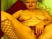 Hairy Granny Plays on Webcam R20