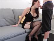 Ashley Alban Gives a Great Blowjob