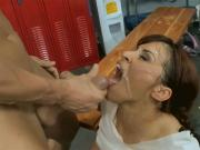 Cumshot, facial compilation August #1