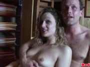 Creampied dutch slut pussyfucked by tourist