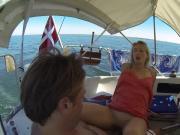 GoPro fuck on boat