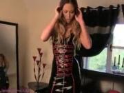 natalia forrest my first latex dress
