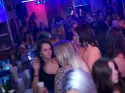 Euroteen sexparty closeup in real nightclub