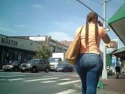 Candid Phat Apple Booty Latina