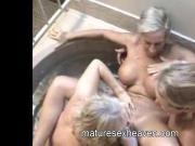 Three Grannys In A Hot Tub