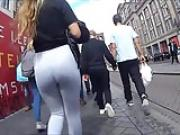 PAWG ass Grey Leggings