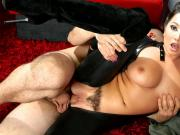 Spizoo - Karlee Grey fucking a huge cock in the space