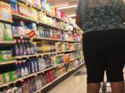 Big black booty granny