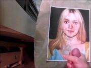 Dakota Fanning Cum Tribute 06