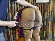 Paddled by an Educator - Spanking