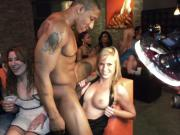 Crazy Sluts Having Fun With Male Stripper At Dancing Bear Pa