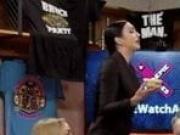 WWE - Peyton Royce grabs Billie Kay's big booty