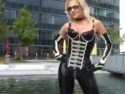 The Leather Fetish Queen Lady Heike