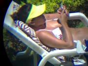 Novinha no Banho Solar