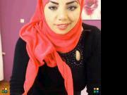Sexy arabic girl dancing on cam