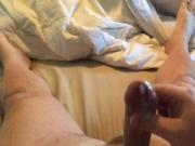 My Huge Cumshot in slow motion